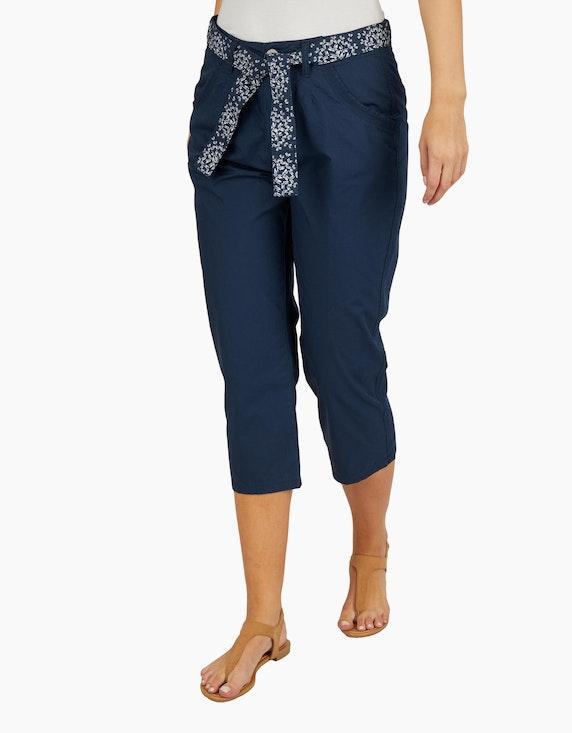 Bexleys woman Papertouch-Hose mit Schmetterlingsgürtel | ADLER Mode Onlineshop