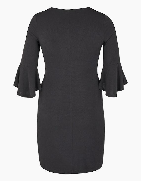 KS. selection Jerseykleid mit Wasserfallausschnitt | ADLER Mode Onlineshop