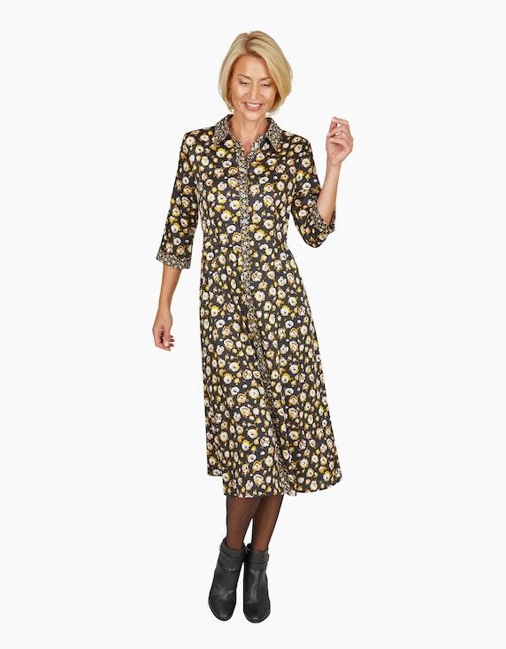 Steilmann Woman Hemdblusenkleid mit Blumenmuster | ADLER Mode Onlineshop