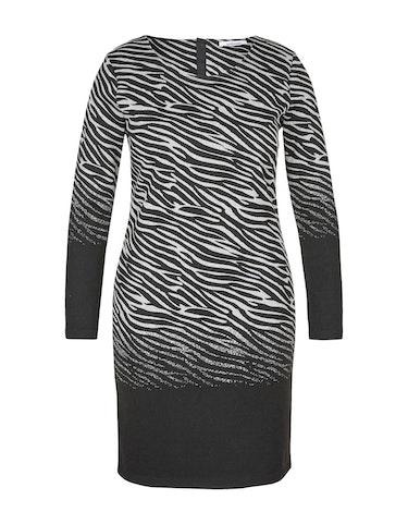 Produktbild zu Jacquard-Kleid im Zebra-Look von Steilmann Woman
