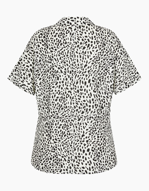 Bexleys woman Bluse mit Print und Tunnelzug in der Taille   ADLER Mode Onlineshop