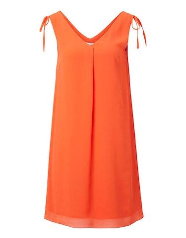 Produktbild zu ärmelloses Struktur-Chiffon-Kleid von Tom Tailor