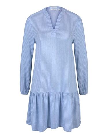 Produktbild zu Gestreiftes Tunika Kleid mit Leinen von Tom Tailor