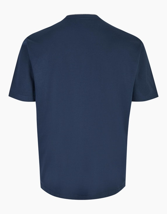 Big Fashion T-Shirt mit Henley-Ausschnitt   ADLER Mode Onlineshop