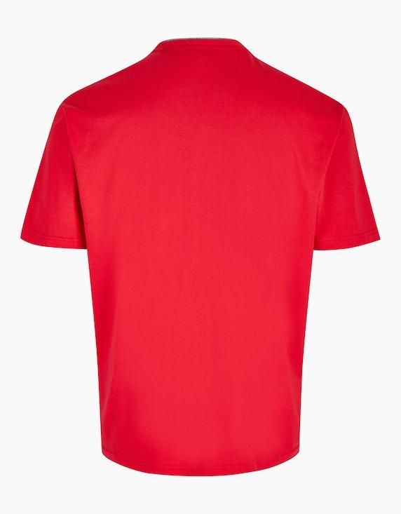 Big Fashion T-Shirt mit Henley-Ausschnitt | ADLER Mode Onlineshop