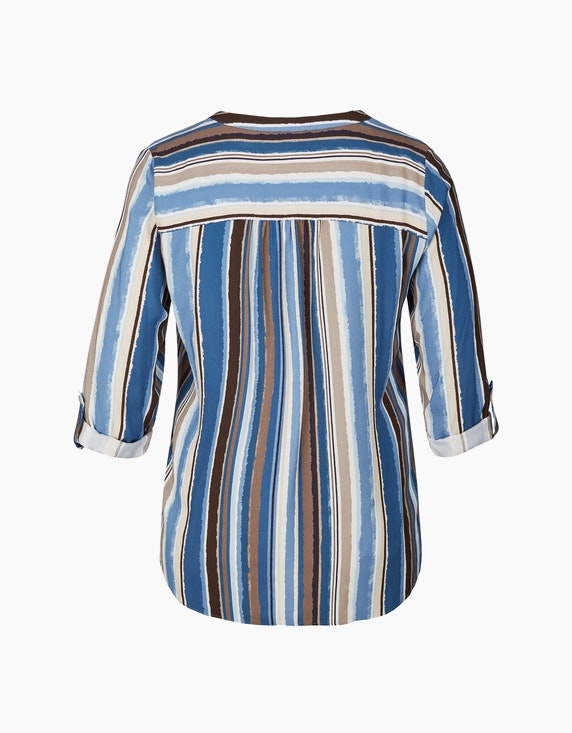 VIA APPIA DUE Bluse mit Streifen | ADLER Mode Onlineshop