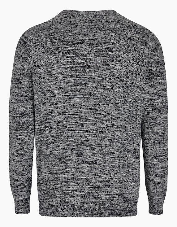Bexleys man Pullover in Twotone in grobem Linksstrick | ADLER Mode Onlineshop