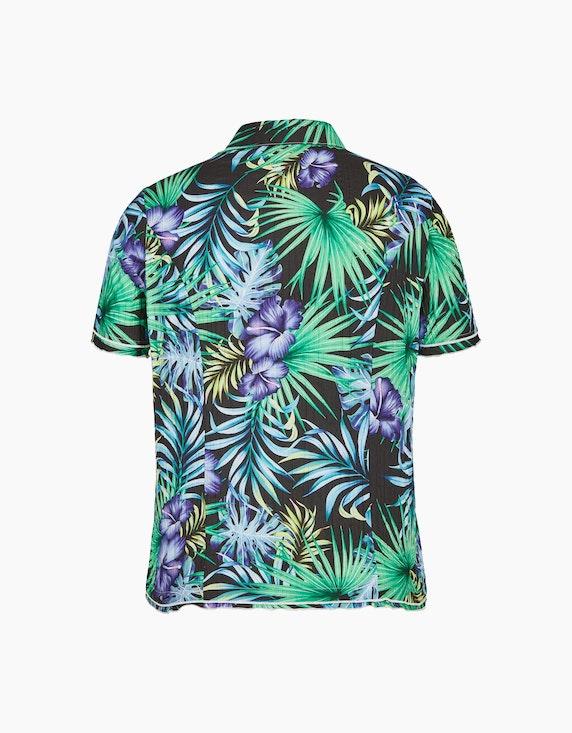 Bexleys woman Crinkle-Bluse mit Dschungel-Druck | ADLER Mode Onlineshop