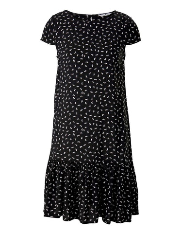 Produktbild zu Kurzes Kleid mit Volant von Tom Tailor