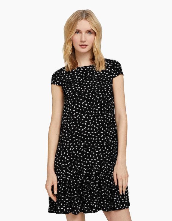 Tom Tailor Kurzes Kleid mit Volant | ADLER Mode Onlineshop