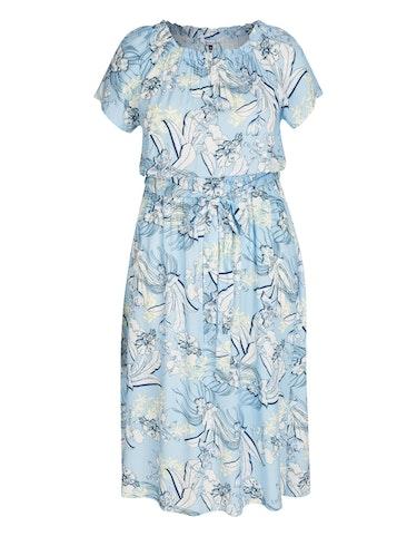 Produktbild zu Mittellanges Kleid im Carmen-Stil von Steilmann Woman