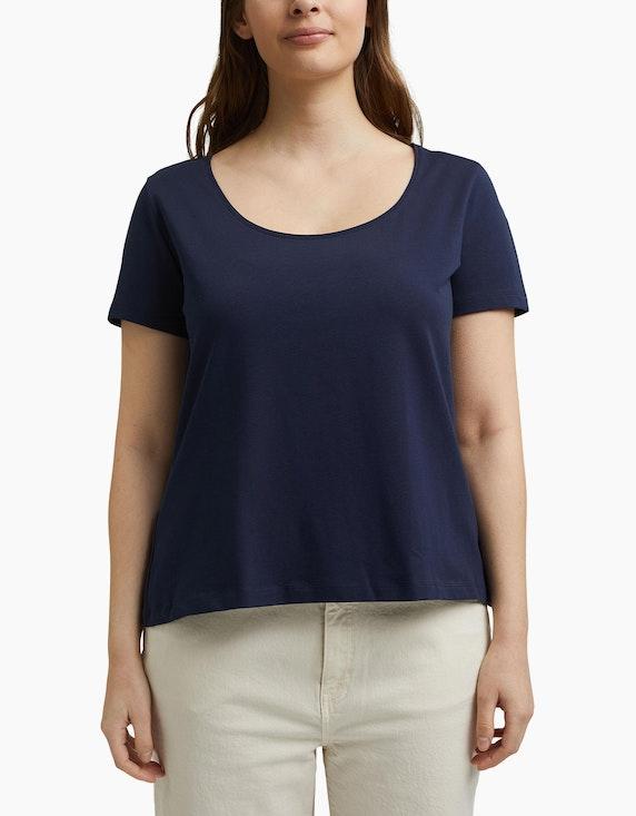Esprit Basic-T-Shirt aus Organic Cotton, CURVY   ADLER Mode Onlineshop