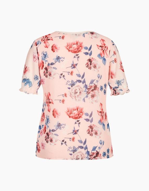 Bexleys woman Chiffonshirt mit Blumendruck   ADLER Mode Onlineshop