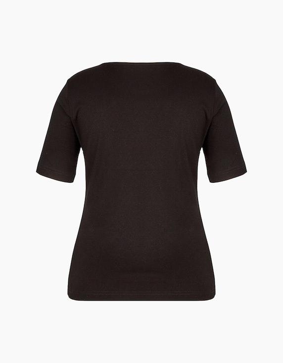 Malva T-Shirt mit Glitzersteinen am Ausschnitt | ADLER Mode Onlineshop