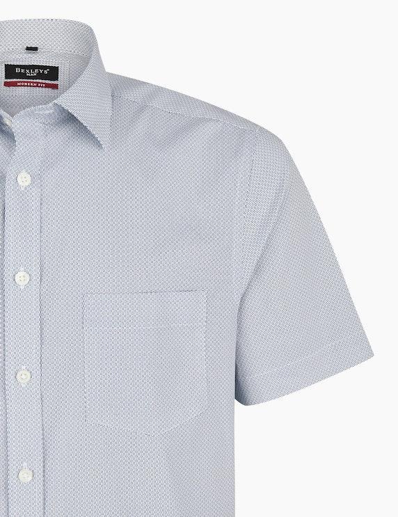 Bexleys man Freizeithemd in elastischer Ware, MODERN FIT | ADLER Mode Onlineshop