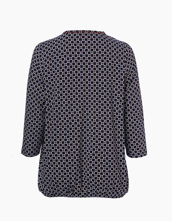 VIA APPIA DUE Shirt mit Alloverdruck | ADLER Mode Onlineshop