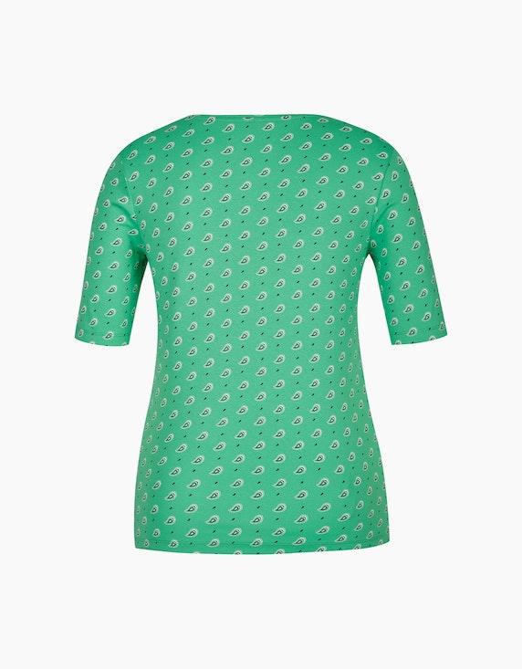 Bexleys woman T-Shirt mit Paisley-Druck und halblangen Ärmeln | ADLER Mode Onlineshop
