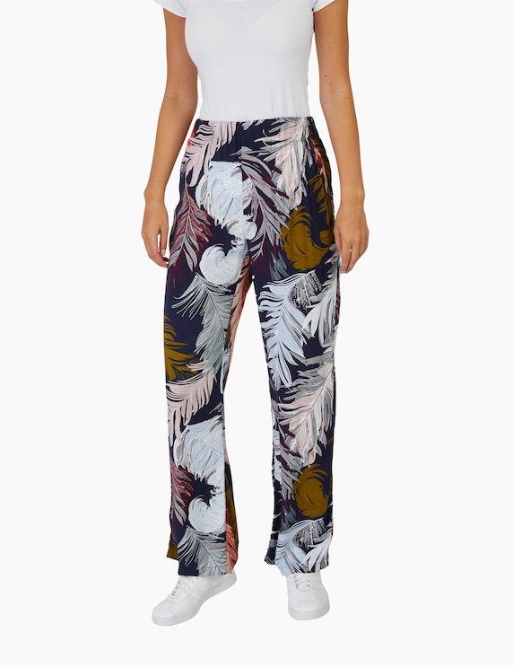 Bexleys woman Palazzo-Hose mit Palmenblätter-Druck | ADLER Mode Onlineshop