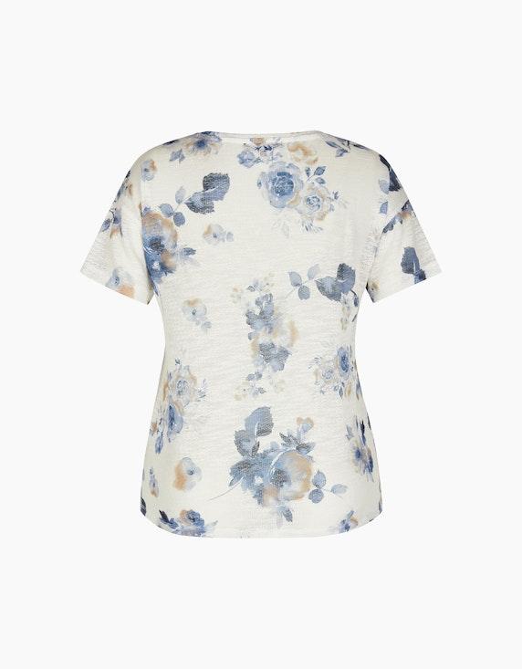 MY OWN feines Strickshirt mit floralem Muster | ADLER Mode Onlineshop