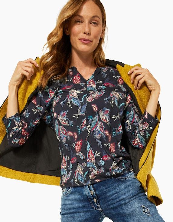 CECIL Shirt mit Muster im Tunika-Style | ADLER Mode Onlineshop