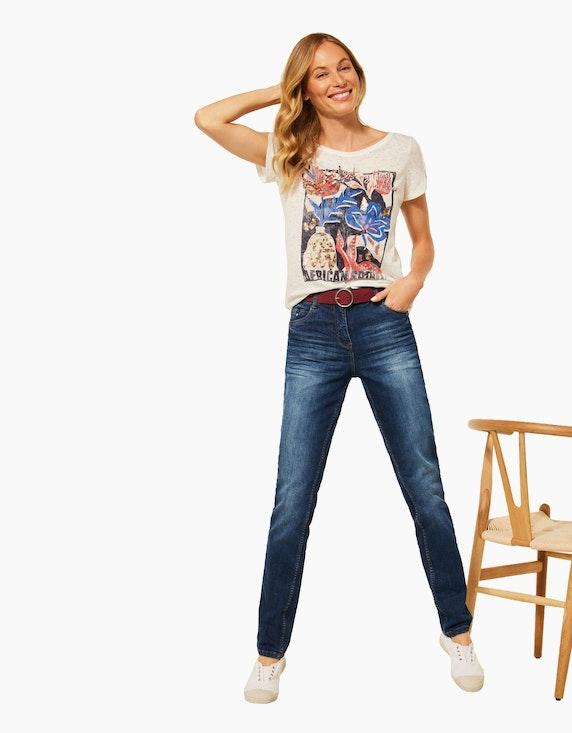 CECIL Basic-Jeanshose, Style Toronto, High Waist | ADLER Mode Onlineshop