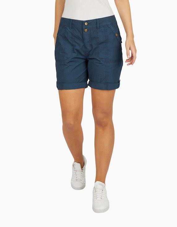 Bexleys woman Papertouch-Shorts mit Doppelknopf | ADLER Mode Onlineshop
