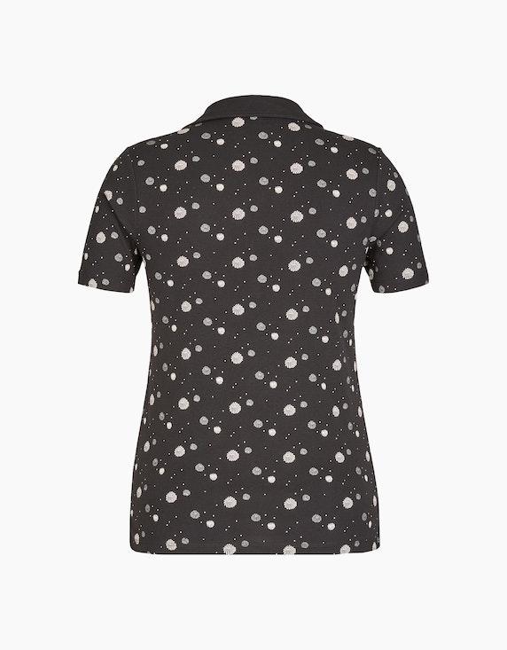 Bexleys woman Bedrucktes Poloshirt | ADLER Mode Onlineshop