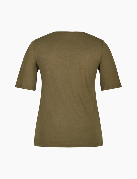 MY OWN Shirt mit Partprint und Ziersteinen   ADLER Mode Onlineshop