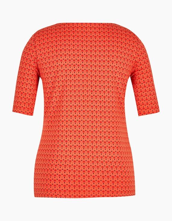 Bexleys woman gemustertes Shirt aus Pima Cotton   ADLER Mode Onlineshop