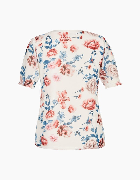 Bexleys woman Chiffonshirt mit Blumendruck | ADLER Mode Onlineshop