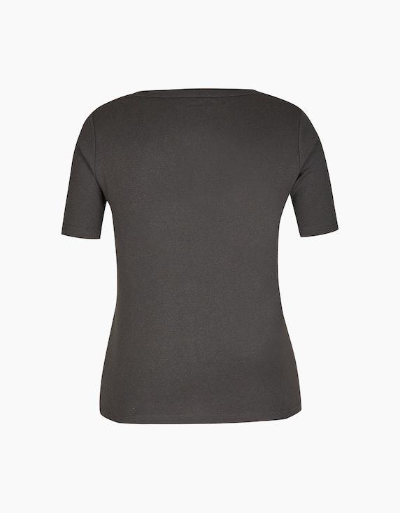 Bexleys woman T-Shirt mit bedruckter Front und Glitzersteinen | ADLER Mode Onlineshop