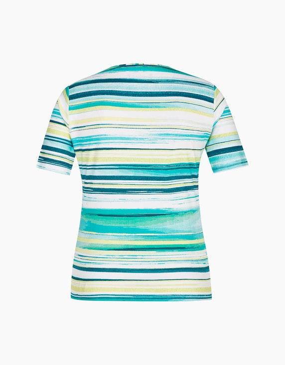 Malva T-Shirt mit Streifenmuster und Strassbesatz | ADLER Mode Onlineshop