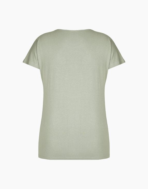 Bexleys woman T-Shirt mit Falten am Ausschnitt | ADLER Mode Onlineshop