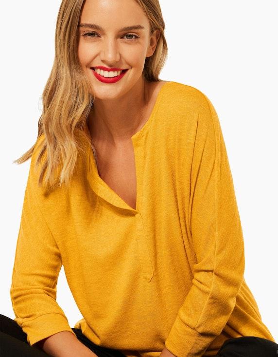 Street One Shirt in Leinen-Optik | ADLER Mode Onlineshop