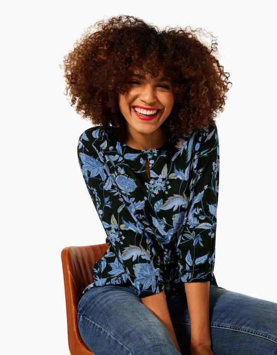 Street One Shirt mit floralem Muster | ADLER Mode Onlineshop