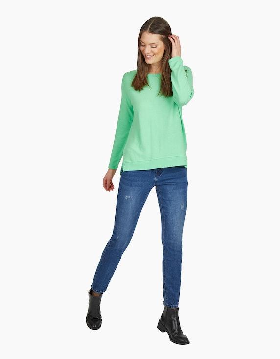 MY OWN Flauschiger Feinstrick-Pullover in Grün   ADLER Mode Onlineshop