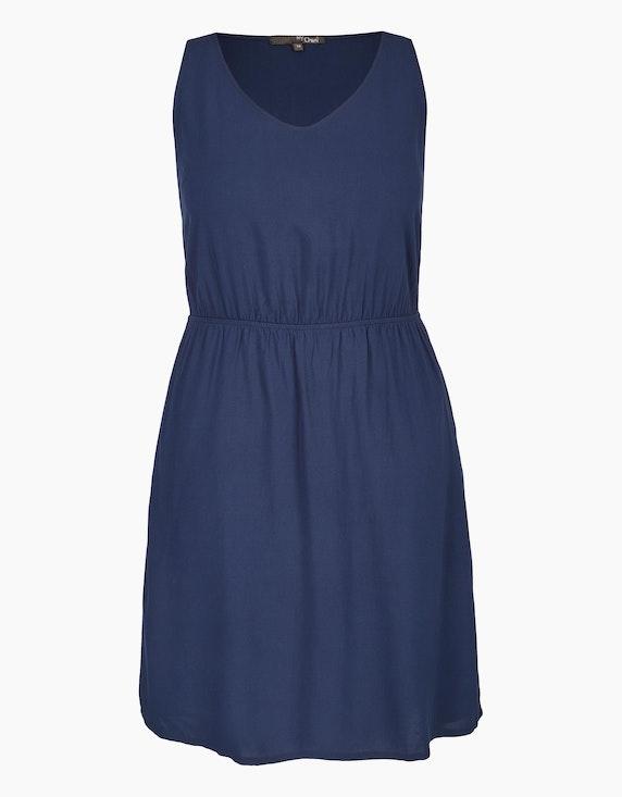 MY OWN Unifarbenes Kleid in Marine   ADLER Mode Onlineshop