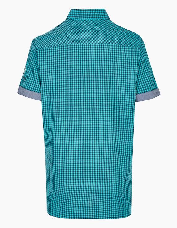 Bexleys man Kleinkariertes Freizeithemd mit Stickerei, REGULAR FIT | ADLER Mode Onlineshop