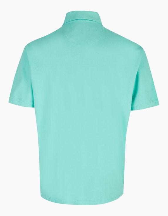 Big Fashion Poloshirt aus Baumwollpiqué   ADLER Mode Onlineshop