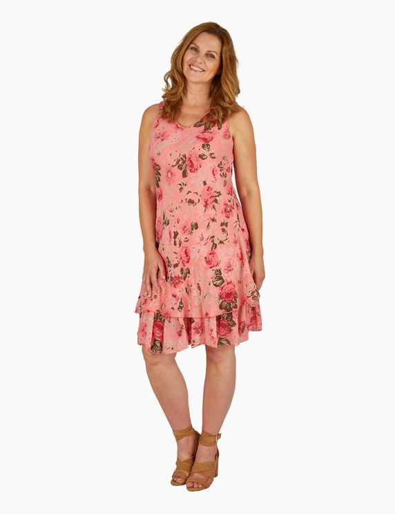 Made in Italy Sommerkleid mit floralem Druck | ADLER Mode Onlineshop