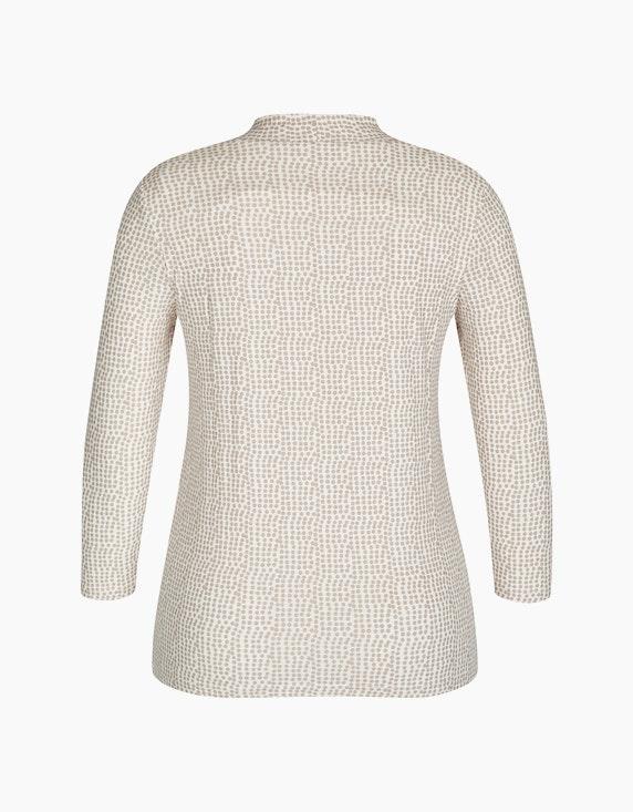 Bexleys woman Shirt mit Ärmel in 3/4-Länge mit Punktedruck   ADLER Mode Onlineshop