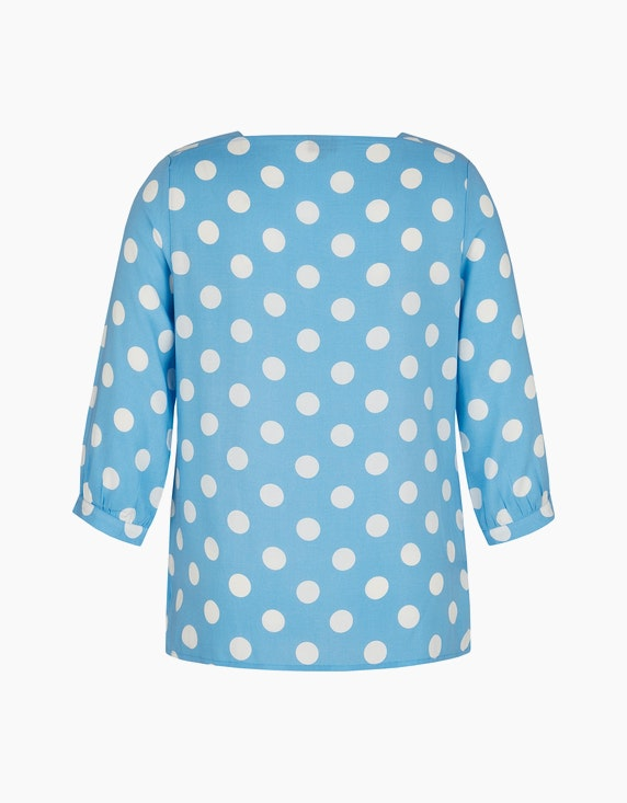 Bexleys woman Bluse mit Polka Dots und Carrée-Ausschnitt   ADLER Mode Onlineshop
