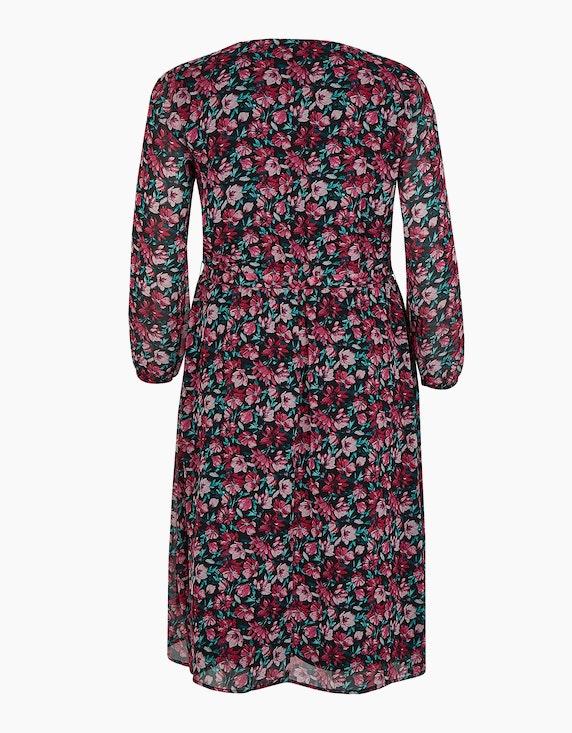 Thea Kleid mit floralem Muster, Midi-Länge   ADLER Mode Onlineshop