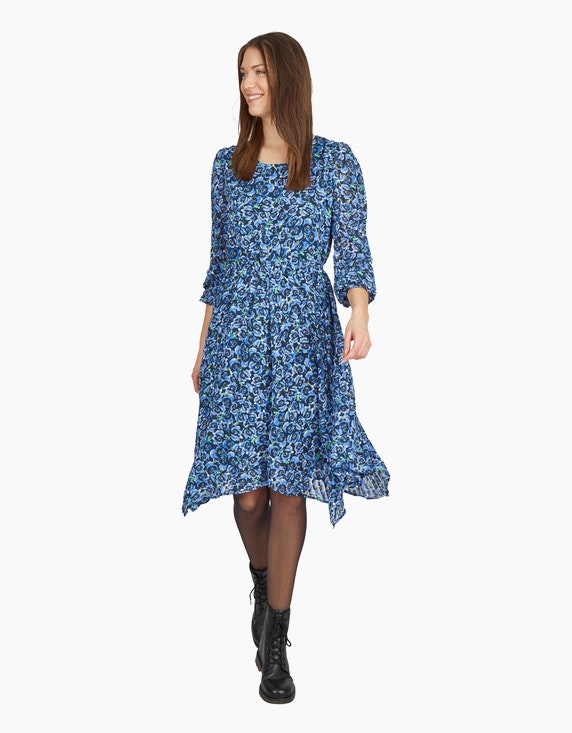 MY OWN Chiffon-Kleid mit floralem Druck   ADLER Mode Onlineshop