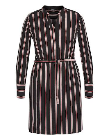 Produktbild zu Streifen-Kleid mit Gürtel von Viventy