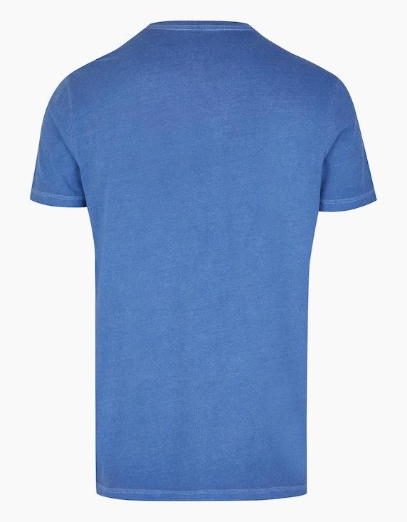 Eagle Denim Baumwoll-Shirt mit Cold-Pigment-Dye-Effekt   ADLER Mode Onlineshop