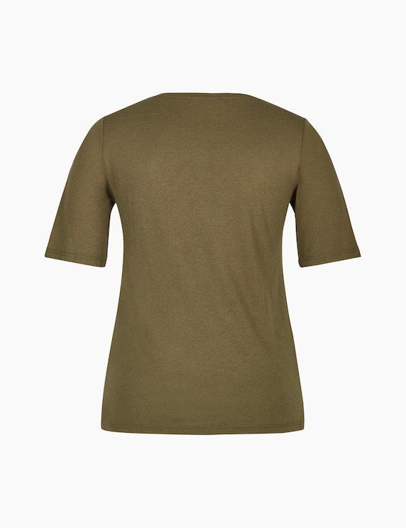 MY OWN Shirt mit Partprint und Ziersteinen | ADLER Mode Onlineshop