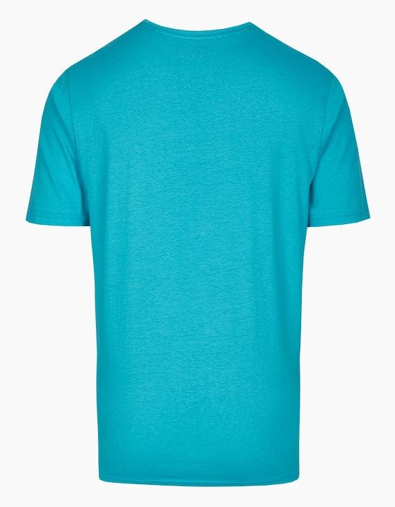 Bexleys man T-Shirt mit großem Brustprint | ADLER Mode Onlineshop