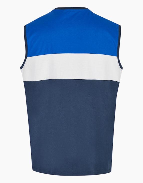 Big Fashion Achselshirt mit Colorblock   ADLER Mode Onlineshop
