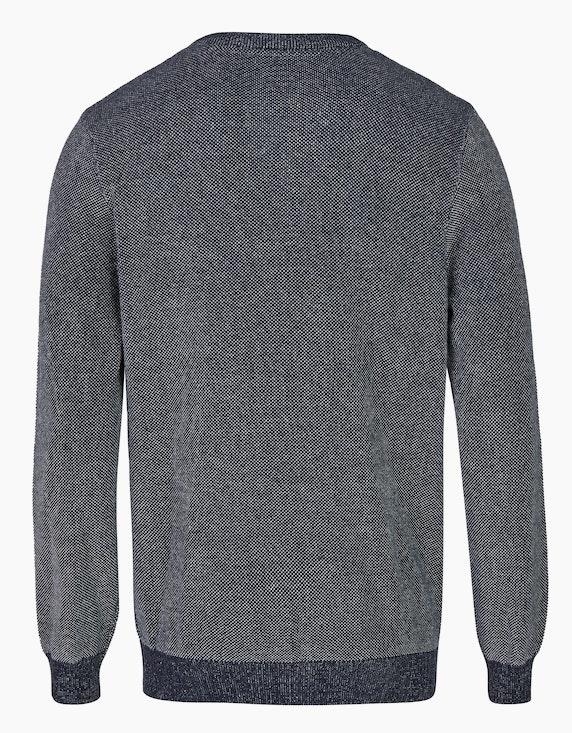 Bexleys man Pullover in Piqué-Struktur | ADLER Mode Onlineshop